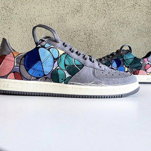 Angelus Acrylic Leather Paint Sneakers