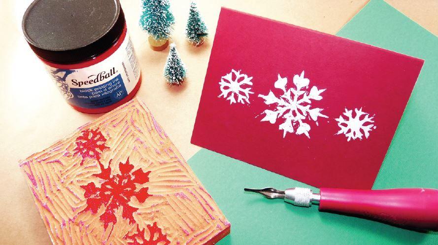 holiday block printing guide