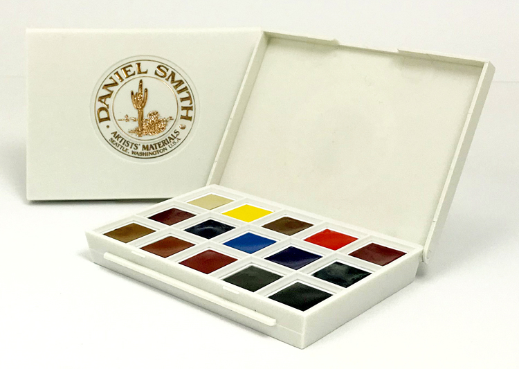 Daniel Smith Watercolor Half Pan Sets Have Arrived Flax