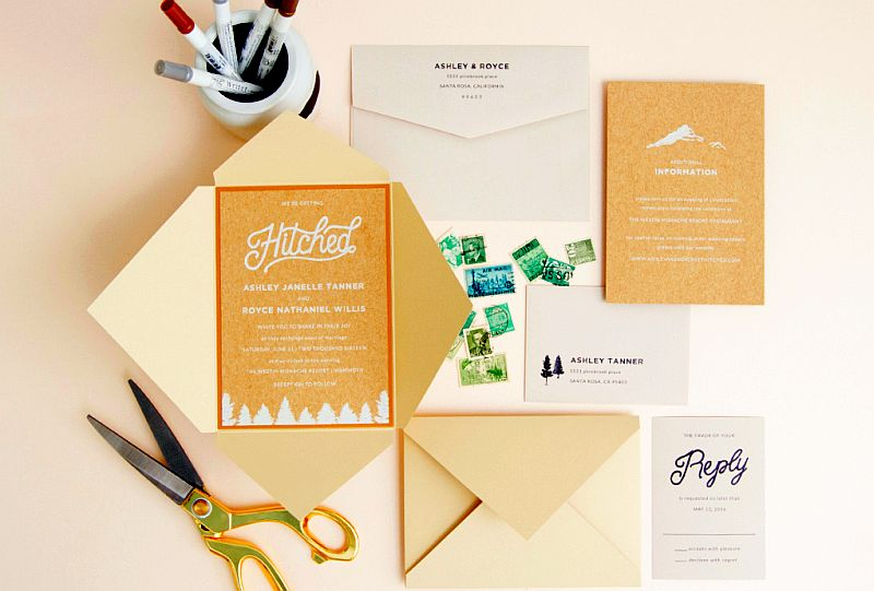 Envelopments Custom Stationery - Weddings