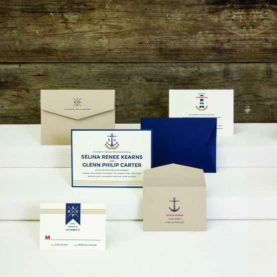 Envelopments Custom Stationery - Announcements