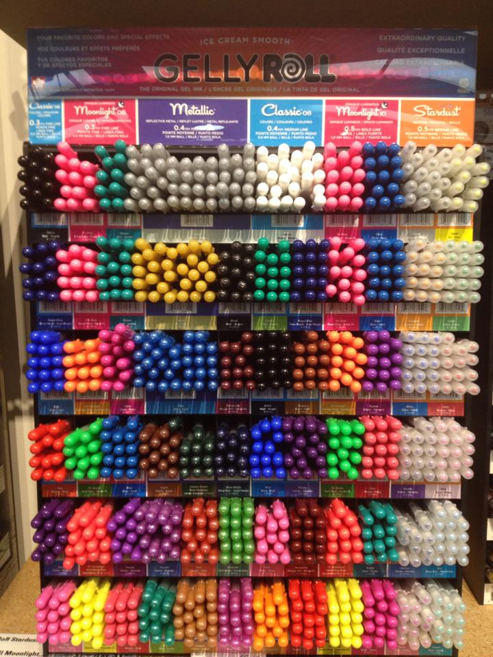 Gelly Roll Display