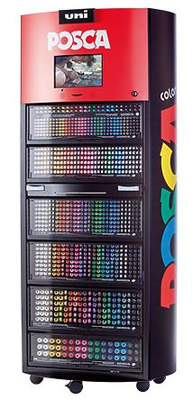 POSCA Marker Display