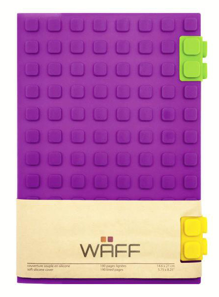 WAFF Journal purple